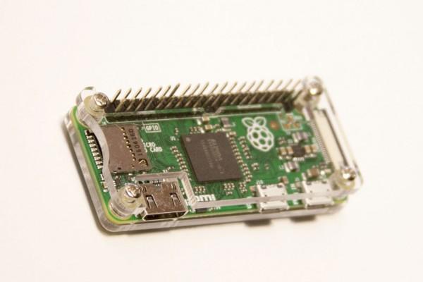 Raspberry Pi Zero Gehäuse transparent