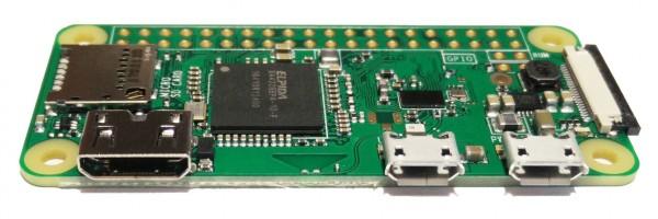 Raspberry Pi Zero W (WLAN Bluetooth)